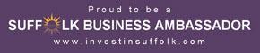 Proud to be a Suffolk Business Ambassador